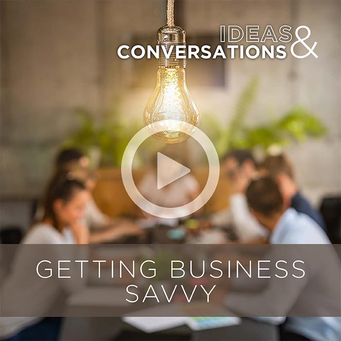 Getting Business Savvy Tile